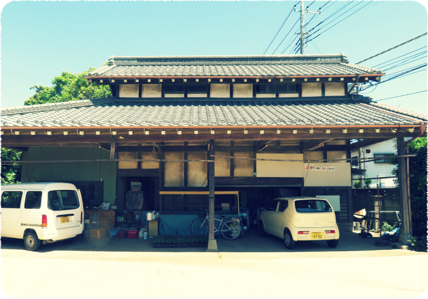 小川梨園の直売所